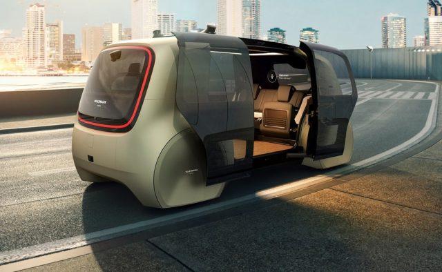 Sedric voiture autonome futur Volkswagen