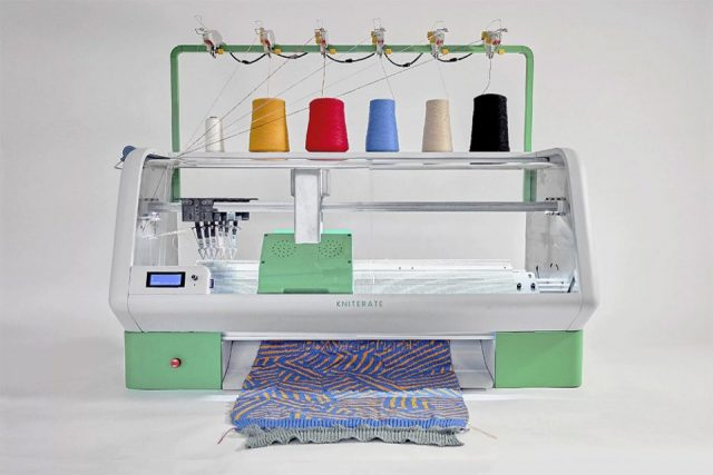 Kniterate imprimante 3D vêtements