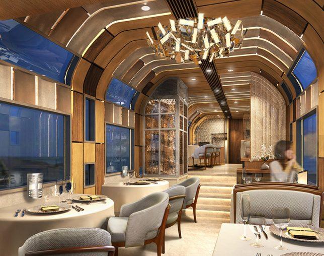 Shiki-Shima train luxueux Ken Kiyoyuki Okuyama