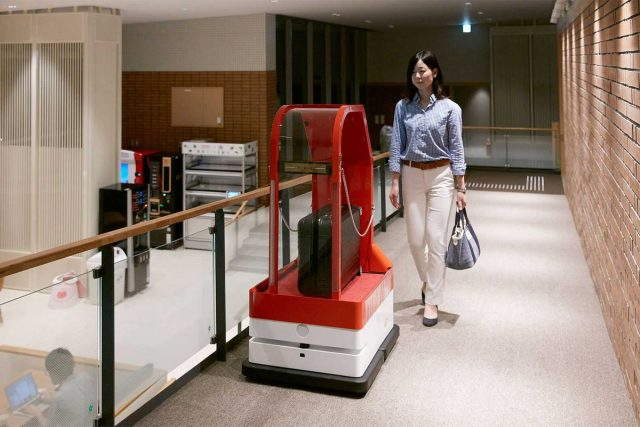 Henna Na hotel robot japonnais