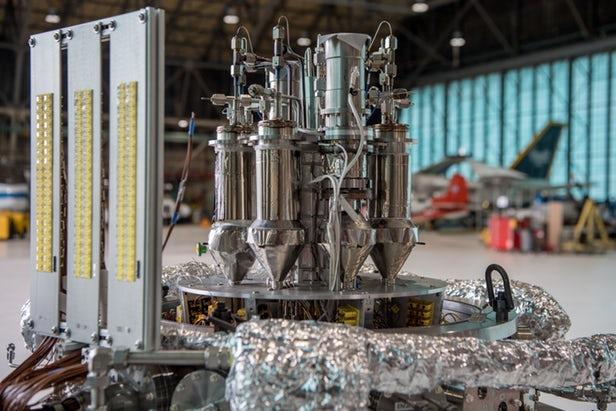 Kilopower NASA réacteurs nucléaires modulaires sur Mars
