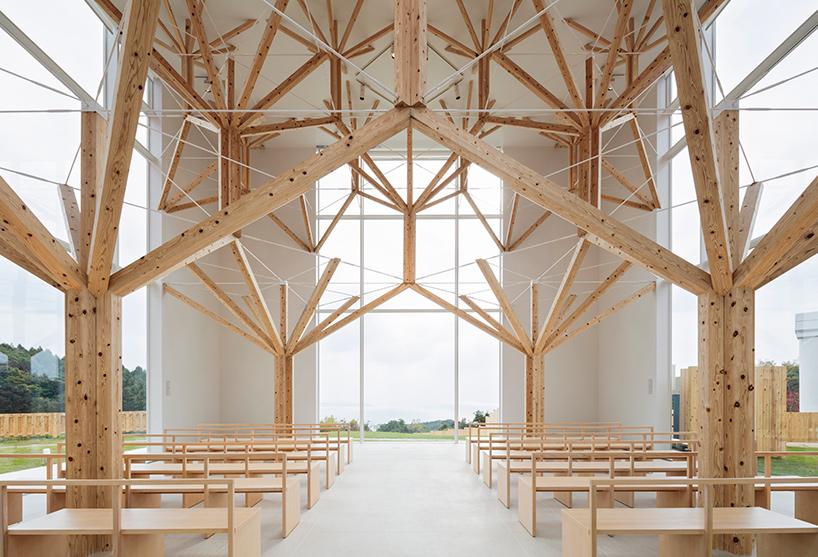 Fractal Chapel - Momoeda Yo imagine une église d'un nouveau genre