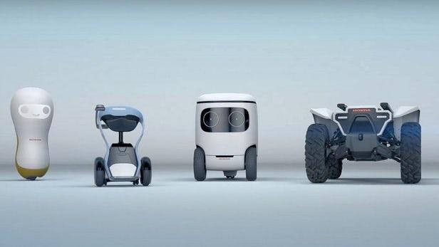 Honda 3E - Découvrez les concepts robotiques de la marque