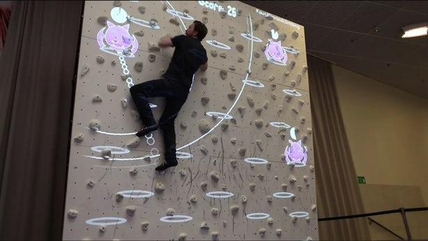 Augmented Climbing – Le mur d'escalade nouvelle génération