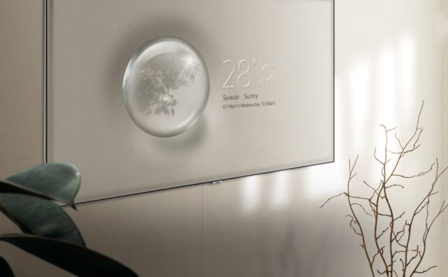 QLED La nouvelle télévision Samsung utilise des algorithmes pour être invisible 1