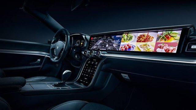 Harman présente un tableau de bord Maserati