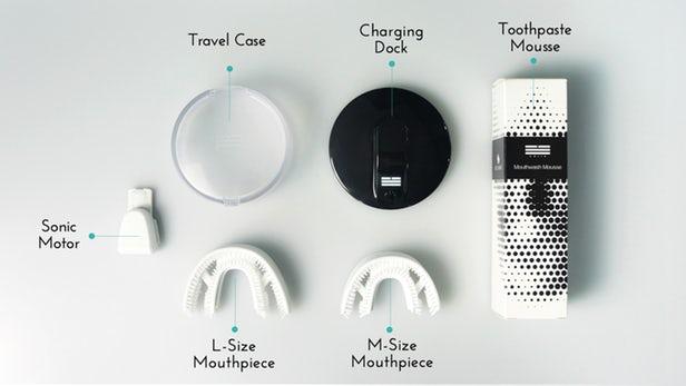 Chiiz – Une brosse à dents sonique pour se laver les dents en 30 secondes