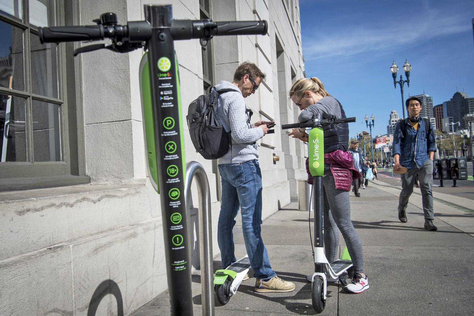 Alphabet investit dans le service de trottinette électrique de Lime
