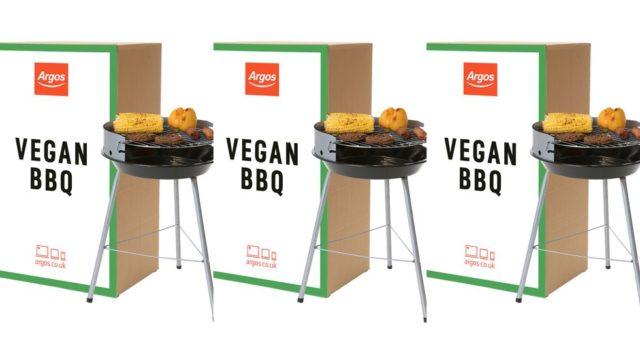 Le premier barbecue végétalien au monde dévoilé par Argos