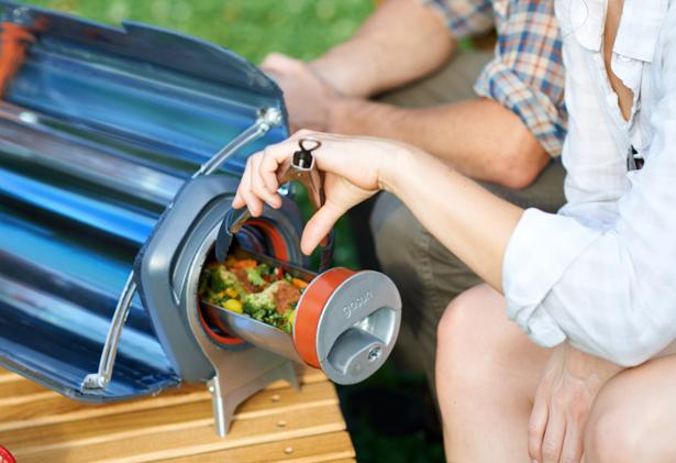 GoSun Fusion - Le four électrique à énergie solaire vous permet de cuisiner même sans soleil