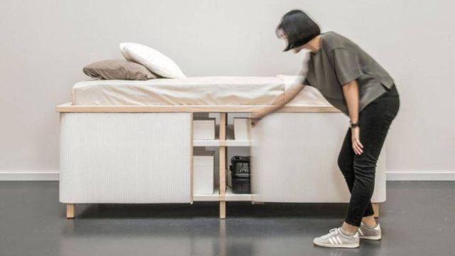 Tiny Home Bed – Un lit dédié aux petits espaces minimalistes