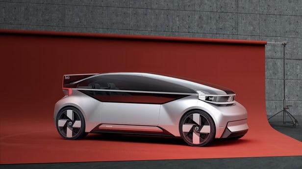 360c – Le concept-car autonome imaginé par Volvo