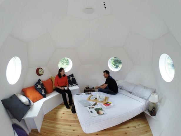 Conker - Un ancien ingénieur de Rolls-Royce imagine des micro-maisons