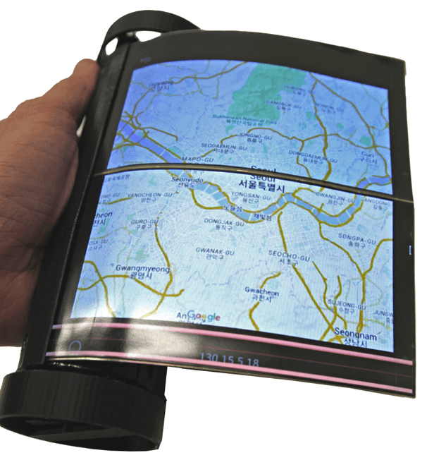 MagicScroll - La tablette enroulable à la fois avant-gardiste et rétro