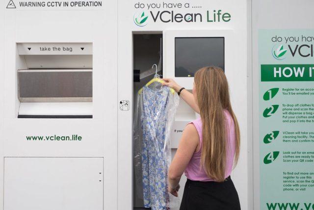 VDrops – Des distributeurs automatiques de linge respectueux de l'environnement
