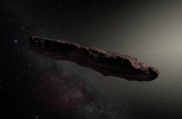 Oumuamua – Cet objet mystérieux pourrait être un vaisseau spatial extraterrestre