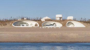 UCCA Dune – Un musée installé dans une grotte sous des dunes de sable