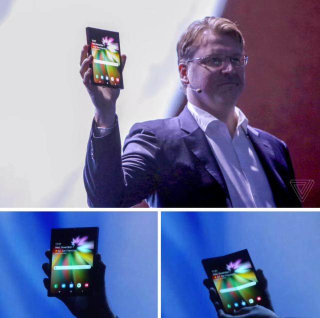 Infinity Flex - Le téléphone pliable de Samsung enfin dévoilé