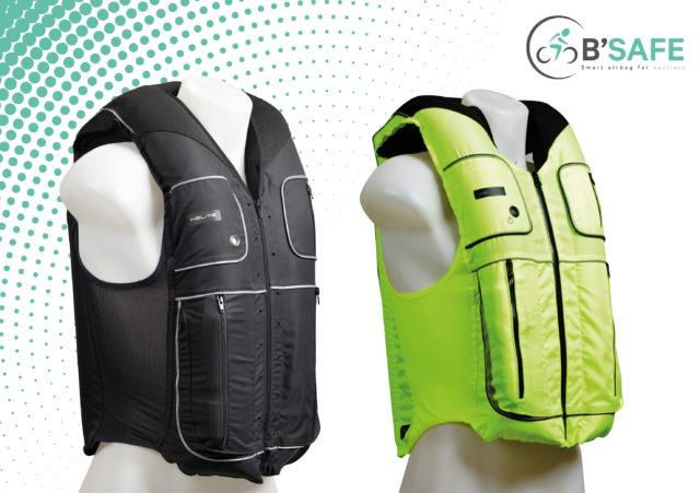 B'Safe Smart – Un airbag pour les cycliste qui détecte un accident en 60 ms seulement 1
