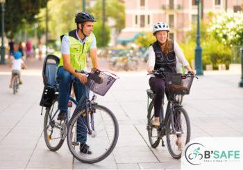 B'Safe Smart – Un airbag pour les cycliste qui détecte un accident en 60 ms seulement