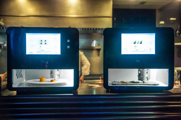 Foodini – Un appareil de cuisine utilisant l'impression 3D 3