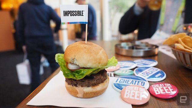 Impossible Burger 2.0 – Un burger sans viande très proche de la vérité