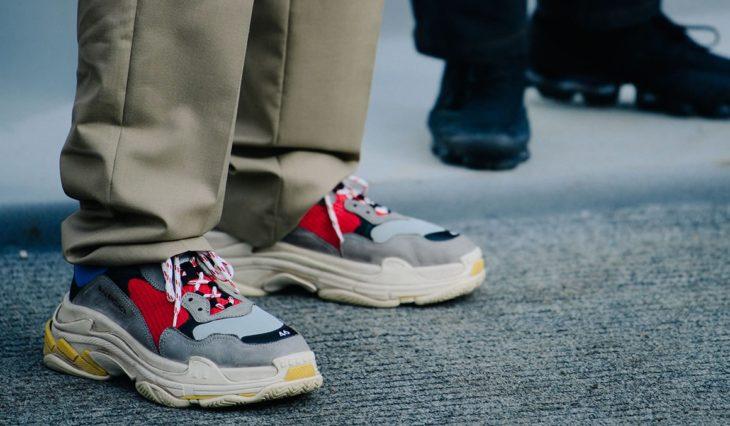 Les baskets Chunky sont la plus grande tendance de la chaussure cette année
