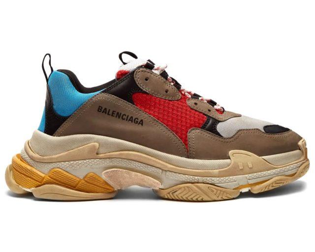 Les baskets chunky Balenciaga