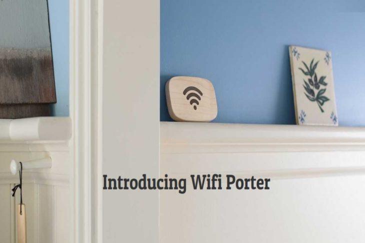 Wi-Fi Porter – Un galet qui permet de se connecter à votre réseau sans fil en un seul clic