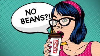 Atomo a inventé le premier café sans grains au monde