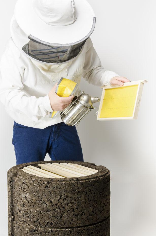 Happy Bees – Une ruche alternative pour fournir un habitat naturel aux abeilles 1