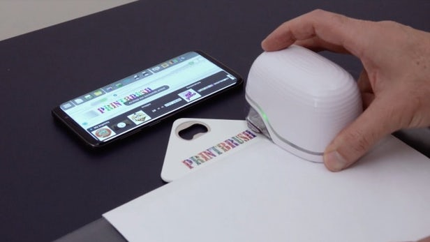 PrintBrush XDR - Une imprimante à jet d'encre portable révolutionnaire