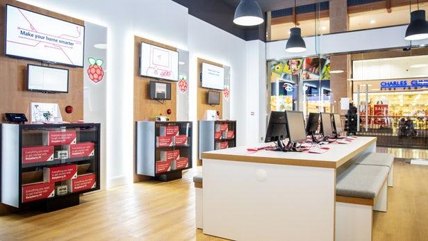 Raspberry Pi ouvre son premier magasin fait de briques et de mortier