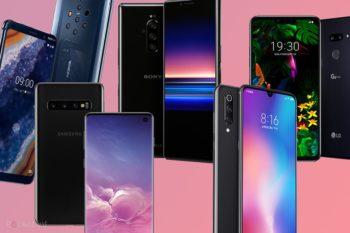 Comparatif des derniers smartphones premium LG vs Samsung vs Sony vs Nokia vs Xiaomi