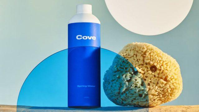 Cove lance une alternative biodégradable aux bouteilles d'eau en plastique