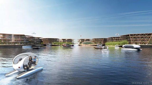 Les villes flottantes seront-elles la norme dans le futur 1