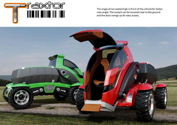 T-Rextor – Un concept de véhicule polyvalent pour l'agriculture par Saharudin Busri 1