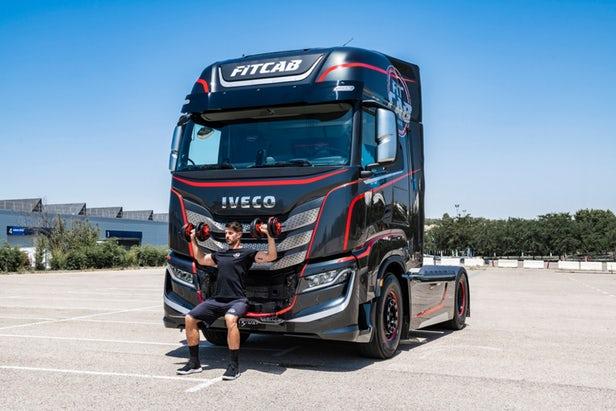 Fit Cab – Iveco dévoile une cabine de camion axée sur la condition physique 1