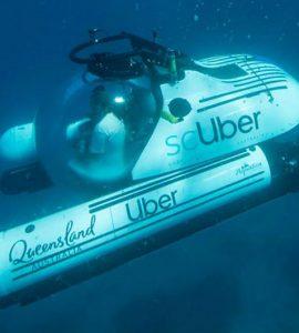 ScUber - Le premier service de sous-marin en covoiturage au monde