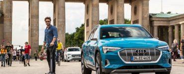 La trottinette e-tron d'Audi adopte une nouvelle approche du dernier kilomètre