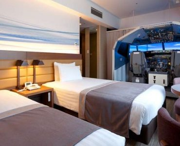 Le Haneda Excel Hotel Tokyu ajoute un simulateur de vol à ses chambres