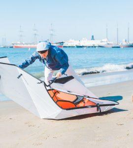 Oru Kayak Inlet - Un kayak ultra léger et portable en origami ne pèse que 9 kilos
