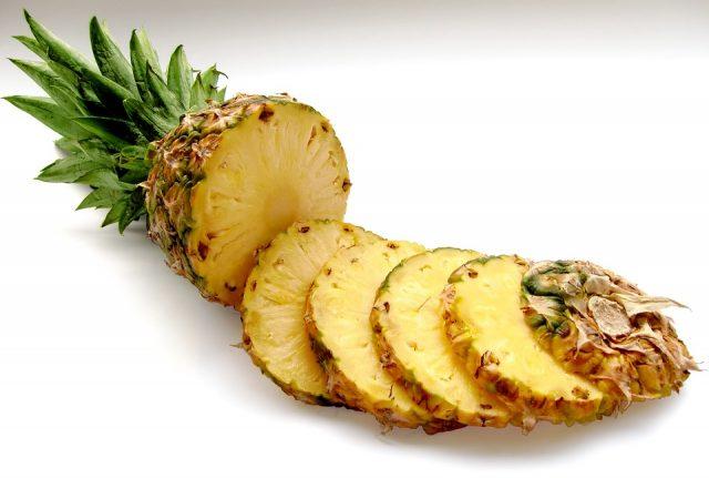 cœurs d'ananas gaspillage alimentaire