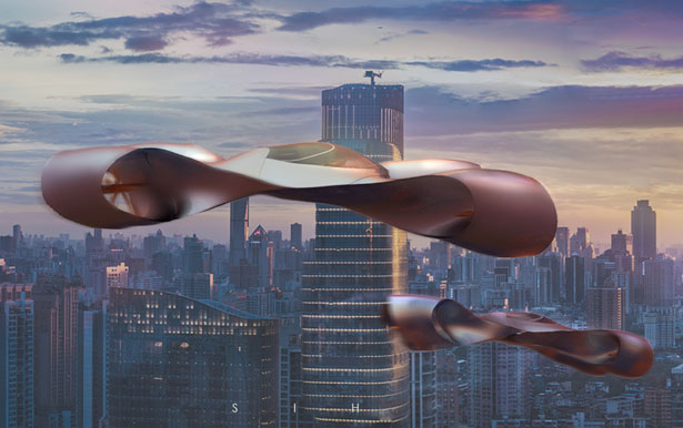 Le futur concept SIH eVTOL de Fenton Robathan