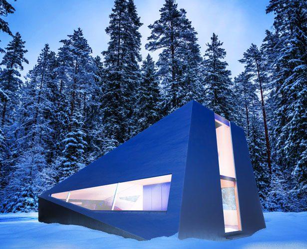 Cybunker – Le Tesla Cybertruck a inspiré ce bunker moderne