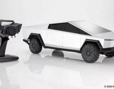 Hot Wheels annonce un Cybertruck Tesla télécommandé 1