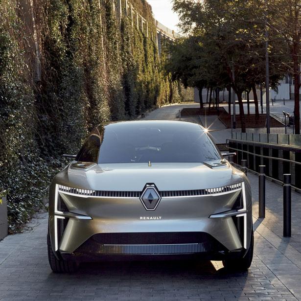 MORPHOZ – Un Concept Car électrique Renault avec plateforme électrique modulaire 1