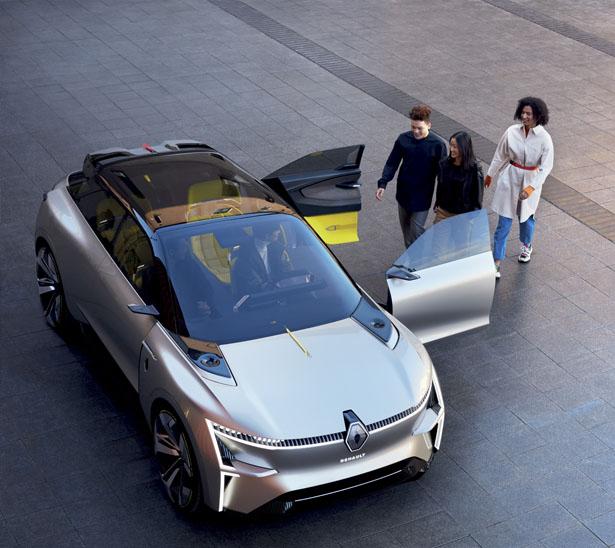 MORPHOZ – Un Concept Car électrique Renault avec plateforme électrique modulaire 2