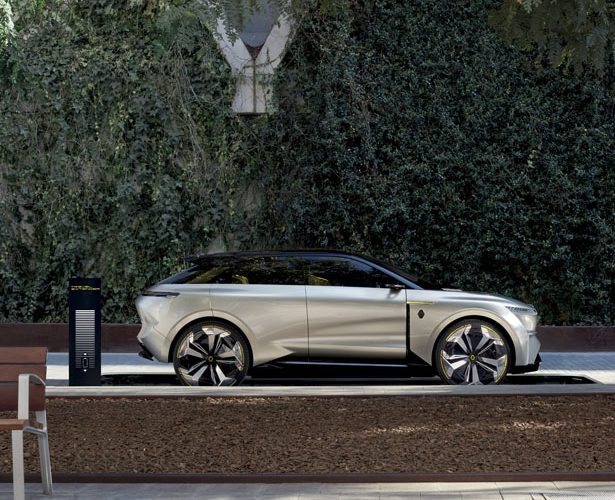 MORPHOZ – Un Concept Car électrique Renault avec plateforme électrique modulaire