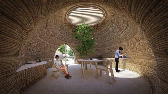 Mario Cucinella conçoit un nid de guêpes géant imprimé en 3D 1